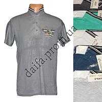Мужская котоновая футболка M26m (в уп. до 5 разных расцветок) оптом со склада в Одессе