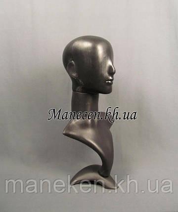Манекен бюст с головой аватара черн, фото 2