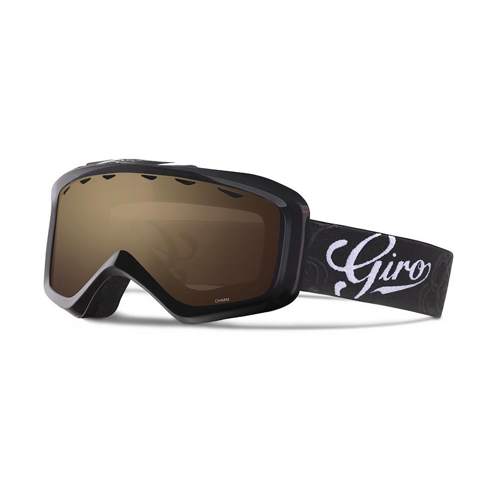 Горнолыжная маска Giro Charm Flash чёрная Sketch Floral, Amber Rose 40% (GT)