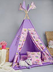 Вигвам - палатка  «Совушки»