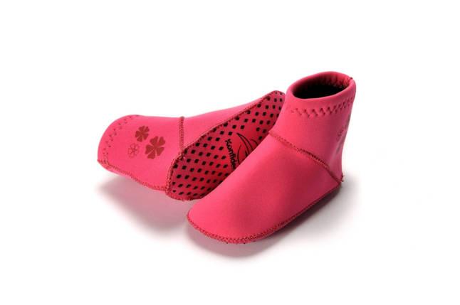Носки для бассейна и пляжа Paddlers, Цвет: Fuchsia Pink, XL/ 24-36 мес, фото 2