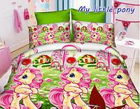 Детское полуторное постельное белье My Little Pony