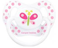 Пустышка Каникулы, силиконовая анатомическая, с бабочкой, 6-18 мес, Canpol babies
