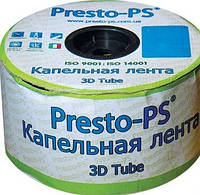 Капельная лента с эмиттером Presto 18 шаг 30 (2 л/ч)500м