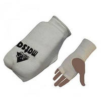 Накладки (перчатки) для карате Matsa MA-0009-W белые - M