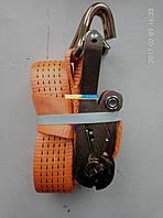 Стяжка груза 5t. 50mm.x5m.(0.5+4.5) пластиковая ручка DK-3919, фото 1