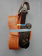 Стяжка груза 5t. 50mm.x5m.(0.5+4.5) пластиковая ручка DK-3919