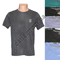 Мужская котоновая футболка TT1m (в уп. до 5 разных расцветок) оптом со склада в Одессе