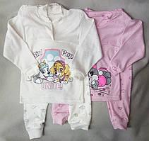 Дитяча піжама для дівчаток, 26-34, Україна, оптом-