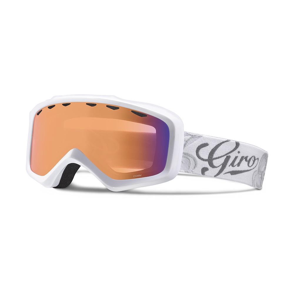 Горнолыжная маска Giro Charm Flash белая Sketch Floral, Persimmon Boost 52% (GT)