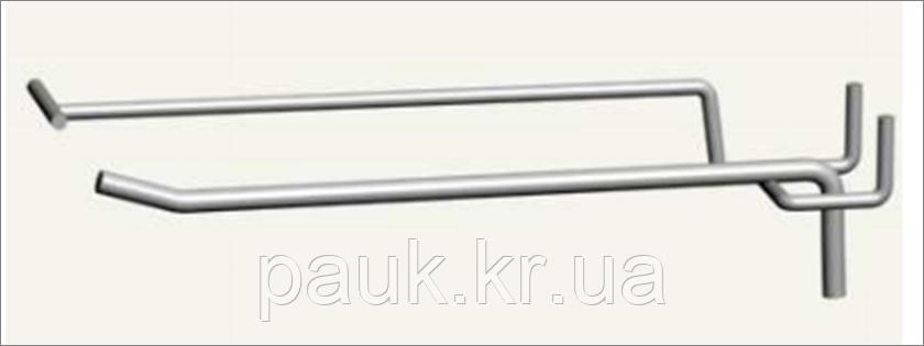 Гачок-цінникотримач одинарний 250 мм, ГОЗЦТ 250