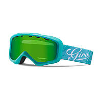 Горнолыжная маска Giro Charm Flash аква/Turquoise Tropical, Loden green 26% (GT)