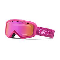 Горнолыжная маска Giro Charm Flash Magenta/Berry Pocket Square, Amber Pink 37% (GT)