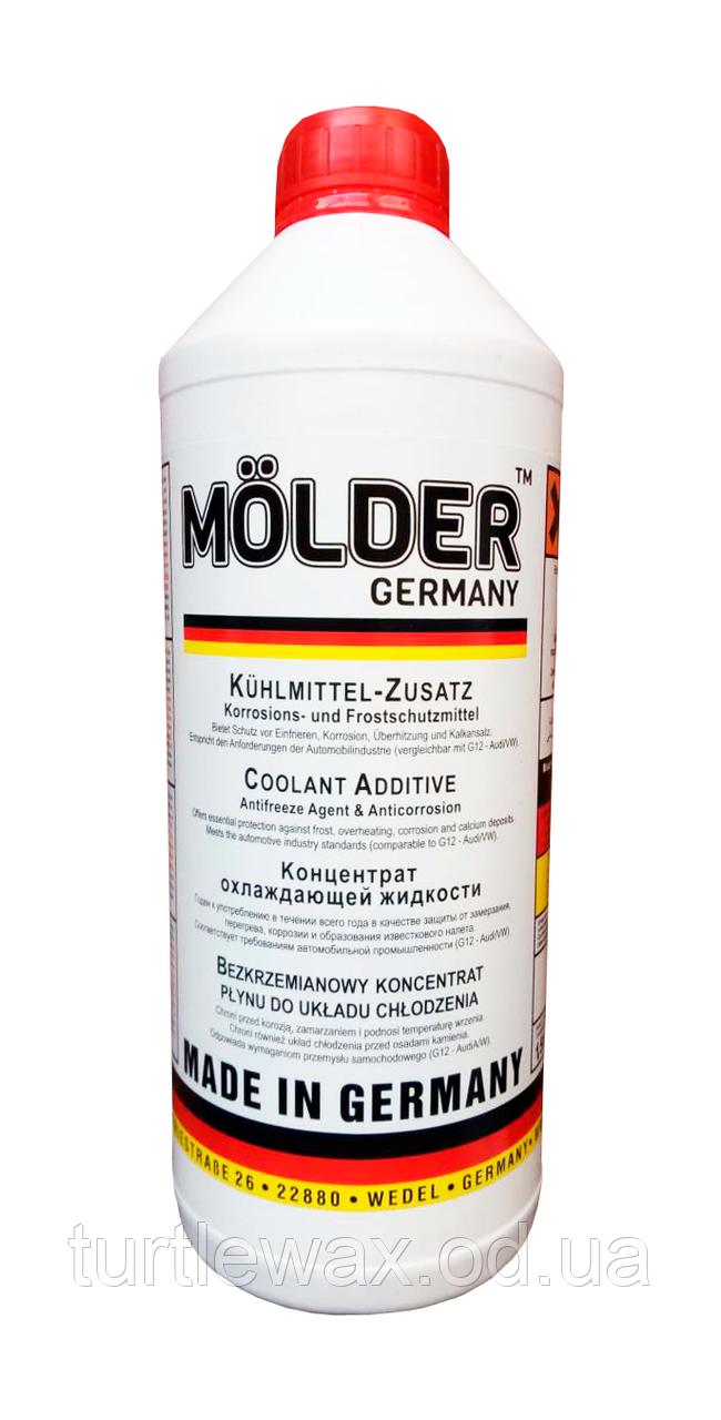 Антифриз MOLDER концентрат G12 красный, 1.5л