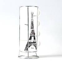 Набор чашек Опять хочу в Париж большой