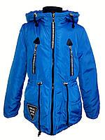 Куртка демисезонная парка на девочку 53554