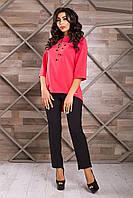 Женская удлиненная блуза Avantazh 42–46р. в расцветках, фото 1