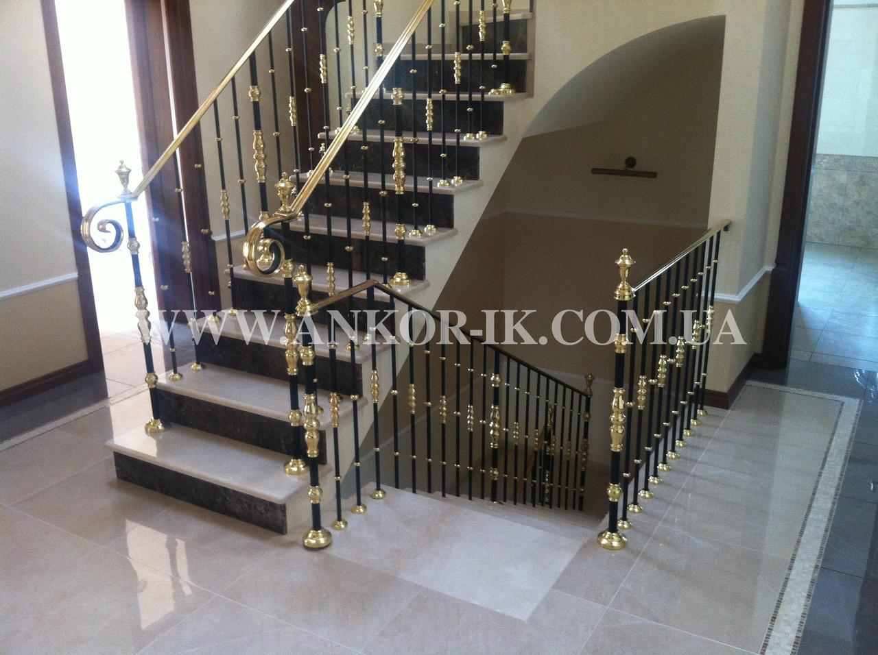 Изготовление лестниц из мрамора, гранита