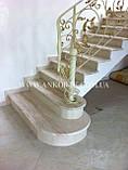 Изготовление лестниц из мрамора, гранита, фото 6