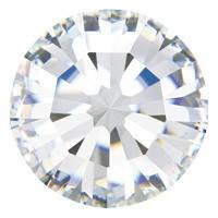 Пришивные стразы в цапах Preciosa (Чехия) ss16 Crystal/серебро