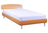 Кровать полуторная 1,4х2 Кэнди (МДФ), оранж металлик