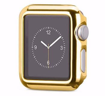 Защитный корпус Primo для Apple Watch 38mm Series 2 / 3 - Gold