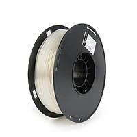Пластиковый материал филамент gembird 3dp-ps1.75-01-w для 3d-принтера polymer silk 1.75 мм белый