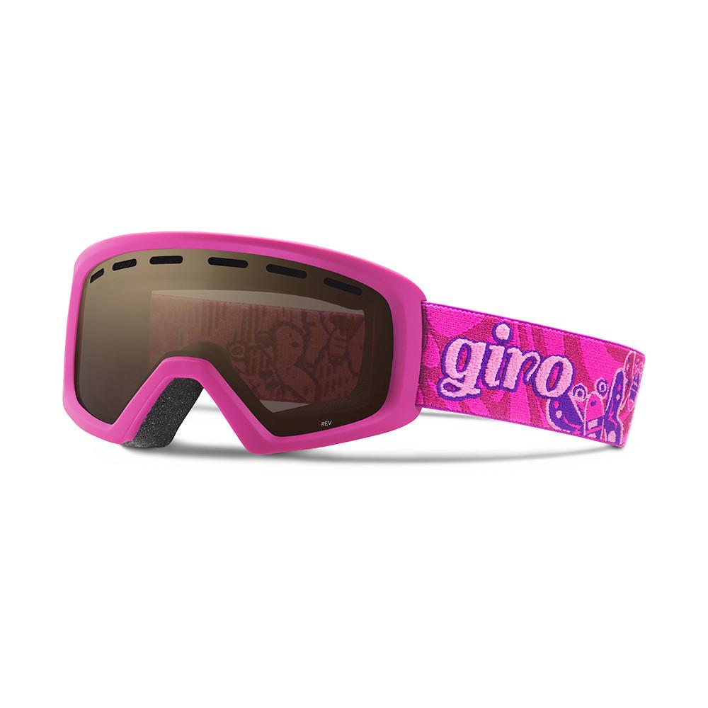 Горнолыжная маска Giro Rev фиолетовая/Magenta Butterflies, Amber Rose (GT)