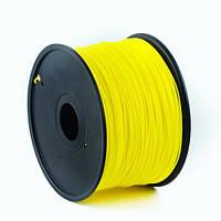 Пластиковый материал филамент gembird для 3d-принтера abs 1.75 мм жёлтий