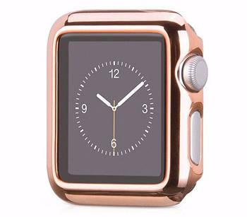 Защитный корпус Primo для Apple Watch 38mm Series 2 / 3 - Rose Gold