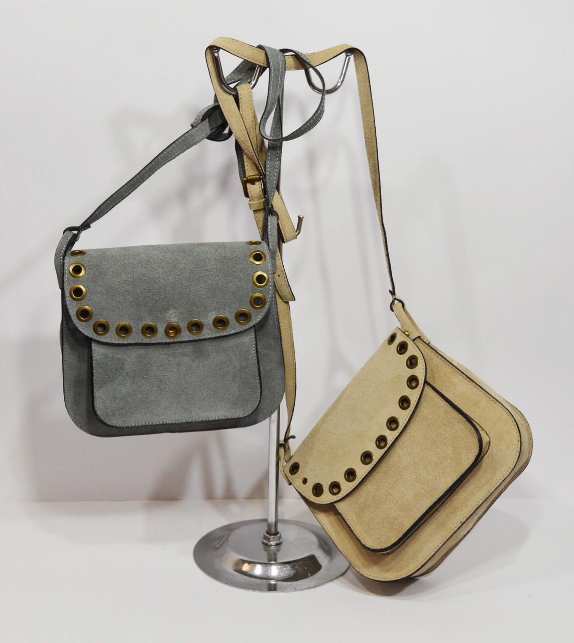 Женская замшевая сумка Laura Biaggi 29-96