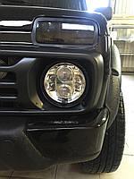 Светодиодные фары главного света ( Нива,Jeep Wrangler, Toyota fj cruiser, Nissan Patrol)
