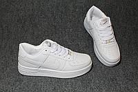 Женские кроссовки Nike Air Force Вьетнам размеры 36-41 белые
