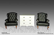 """Кресло руководителя """"Вальтер"""" в коже, фото 2"""