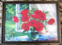 """Картина  """"Маки в вазе"""" от студии LadyStyle.Biz, фото 1"""