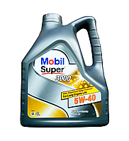 Масло моторное MOBIL SUPER 3000 X1 5W40, 4л