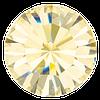 Пришивные стразы в цапах Preciosa (Чехия) Crystal Blond Flare/серебро