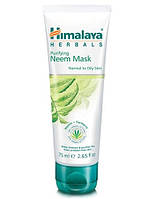 Очищающая маска с нимом Himalaya Herbals, 75 мл