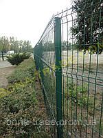 Панельная заборная сетка для дачи