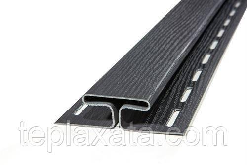 Сайдинг VOX H-профиль (коричневый, графит)