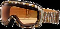 Горнолыжная маска Giro Amulet мат.коричневый/белого дерева, хурма 57% (GT)