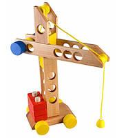 Деревянный конструктор «Башенный кран»