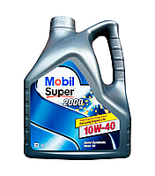 Масло моторное MOBIL SUPER 2000 X1 10W40, 4л
