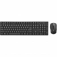 Комплект беспроводной (клавиатура, мышь) Trust Ximo UKR (21628) Black USB