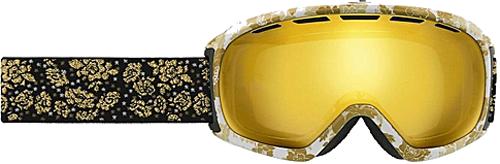 Горнолыжная маска Giro Basis бел./беж. цветы, янтар золот. 24% (GT)