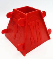 Форма для творожной пасхи пластик 500 грам
