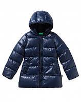 Куртка пуховик с капюшоном Benetton. 82 р. Италия, оригинал