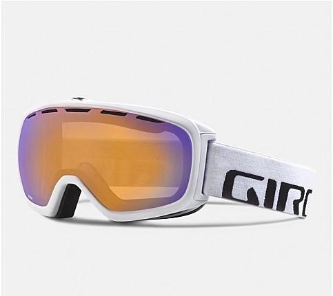 Горнолыжная маска Giro Basis бел./сер. графика, хурма фиол. 60% (GT)