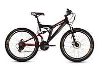 """Велосипед Ardis Reason AMT 26"""" / рама 18,5"""" (черный/синий)"""