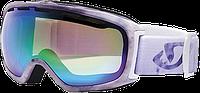 Горнолыжная маска Giro Basis мат.бел./фиол. Боке, зелен. 21% (GT)